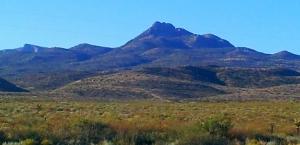 Texas Mountain Range?