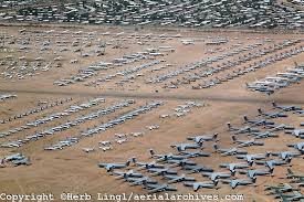 Huge Military Plane graveyard