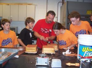 Explainig how to make a mold and castings