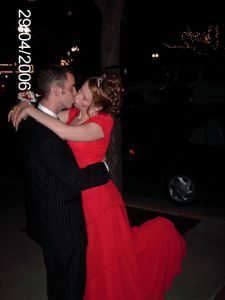 My son Ryan and Emily on Prom Night...They're married now with 2 beautiful boys, Scott and Max
