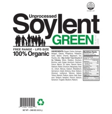 Soylent Green is made for and of and with people!